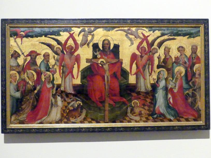 Die Hl. Dreieinigkeit als Gnadenstuhl, nach 1420