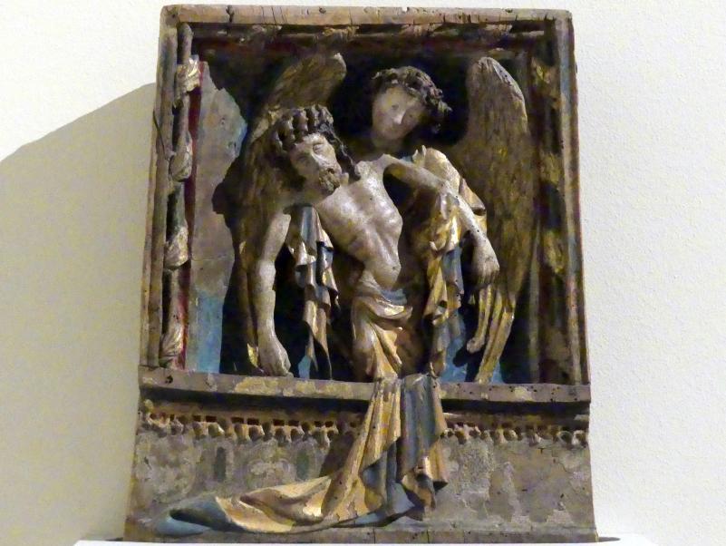 Engel mit dem Leichnam Christi, um 1420