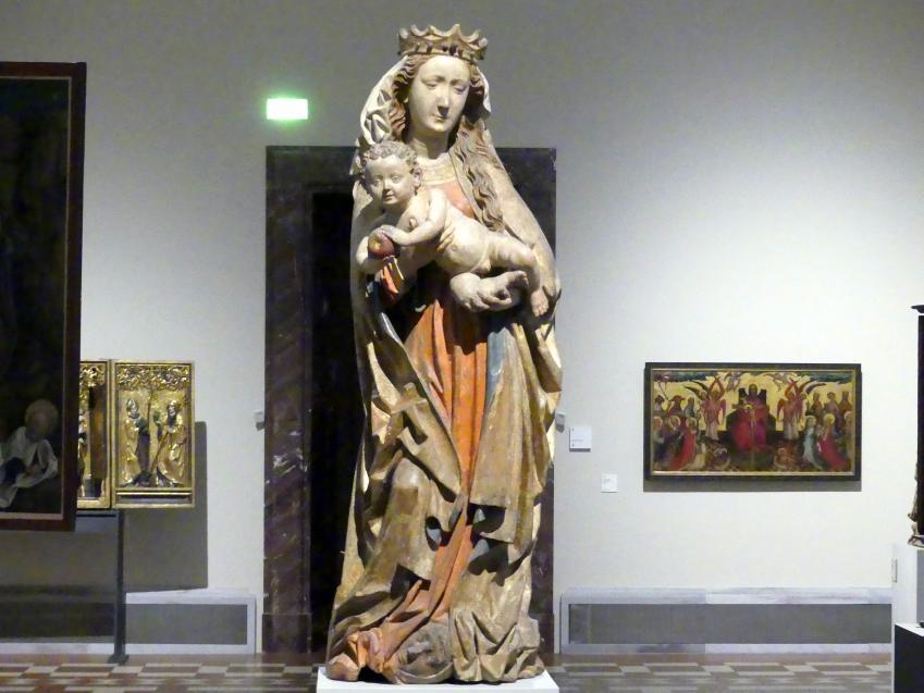 Meister des Imberger Altars: Muttergottes, um 1490