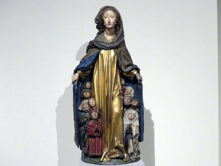 Michel Erhart: Maria mit dem Schutzmantel aus der Liebfrauenkirche in Ravensburg, um 1480