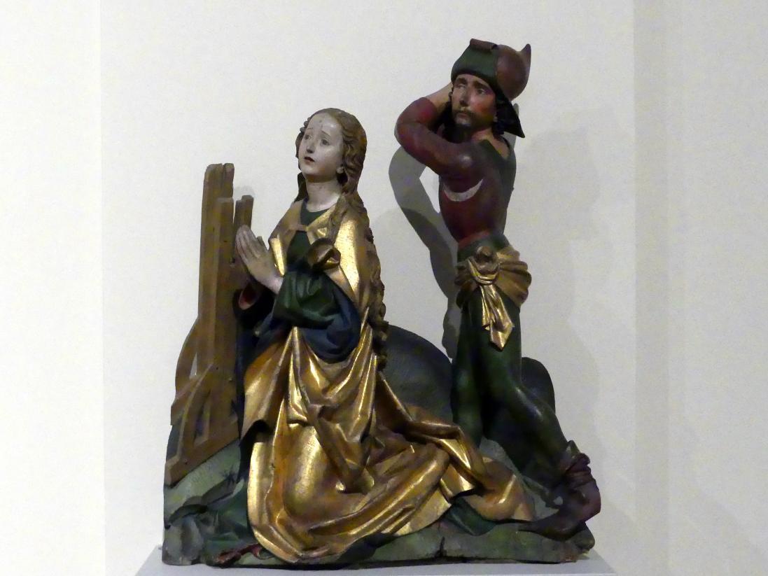 Michel Erhart: Enthauptung der hl. Katharina, um 1480