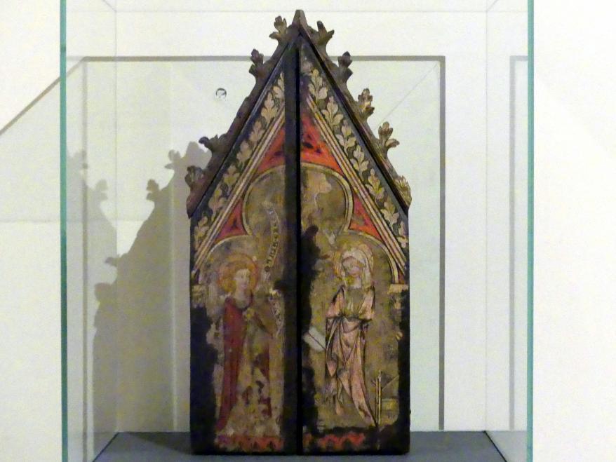 Reliquien-Triptychon, um 1340
