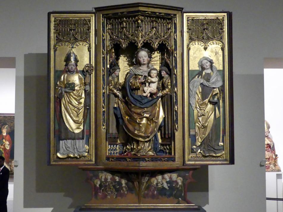 Das Zamser Retabel: Muttergottes und Heilige, um 1485