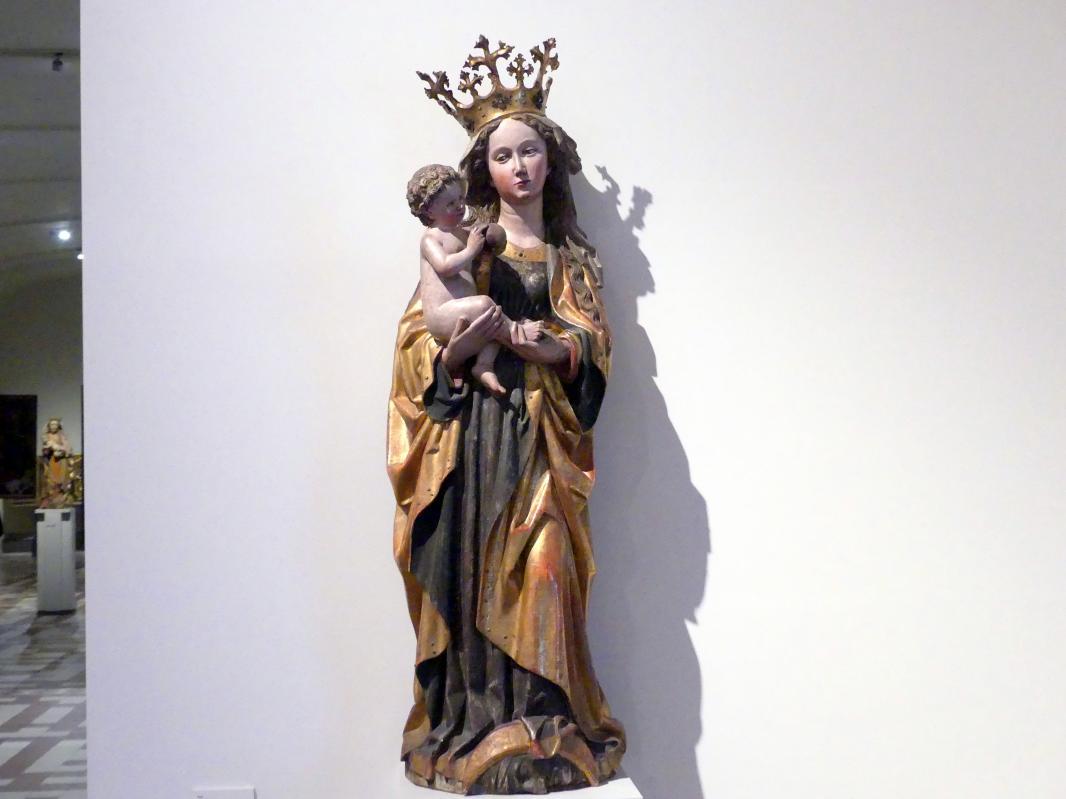 Muttergottes, um 1470