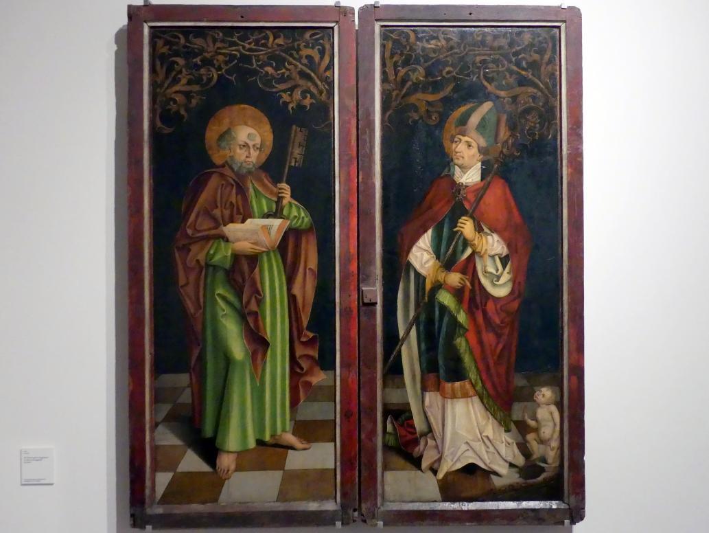 Hl. Petrus und hl. Augustinus, um 1490