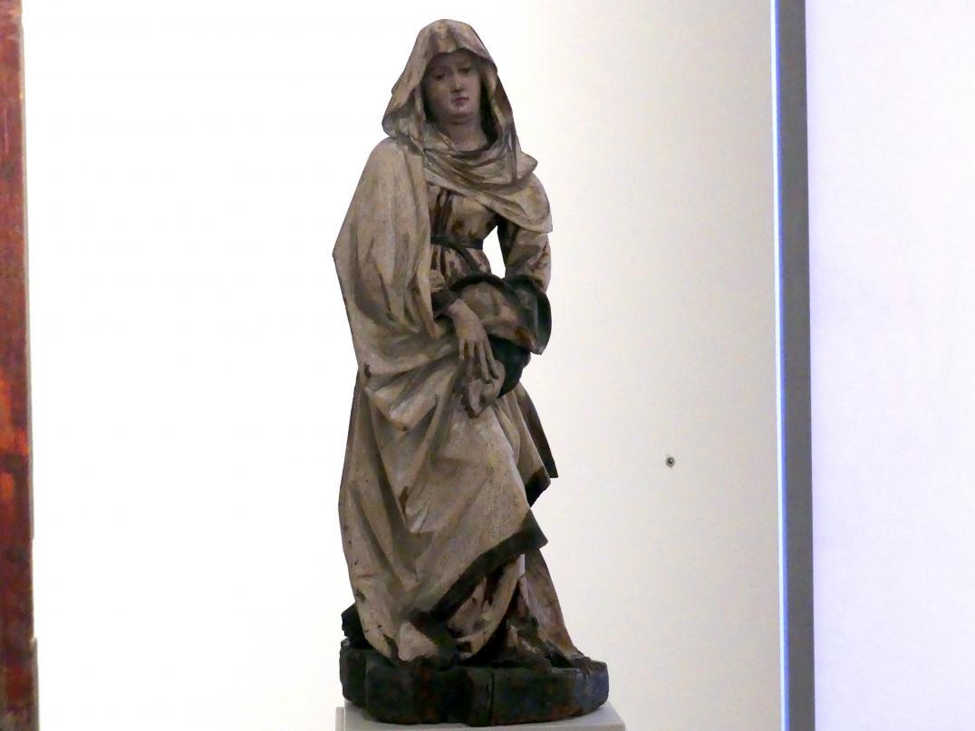 Michael Pacher: Trauernde Maria aus einer Kreuzigung Christi, um 1480
