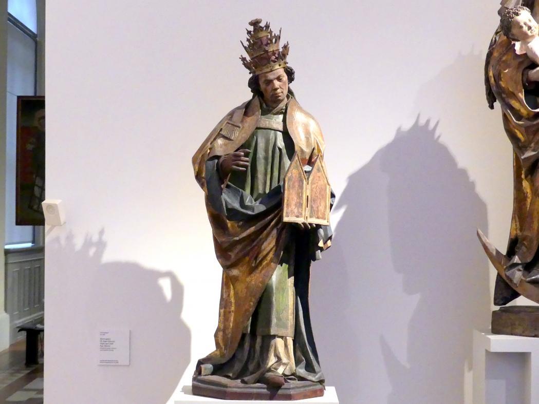 Hl. Papst Sylvester, um 1480