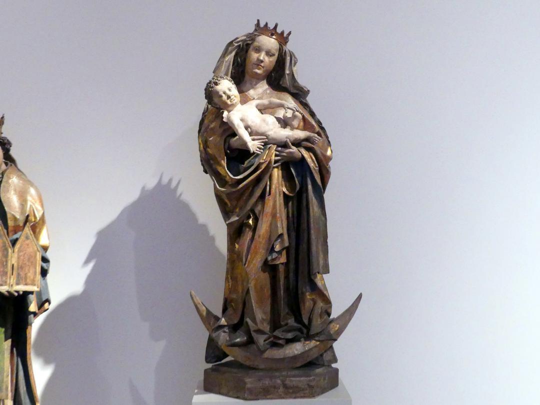Muttergottes, um 1480