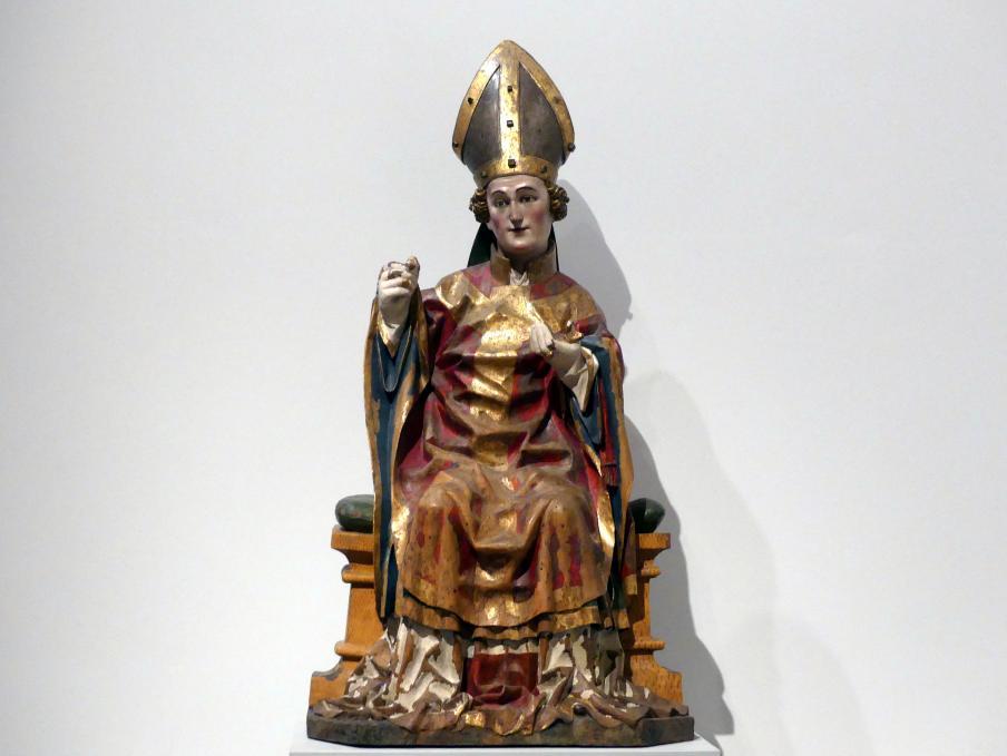Meister von Seeon: Heiliger Bischof, um 1440 - 1450