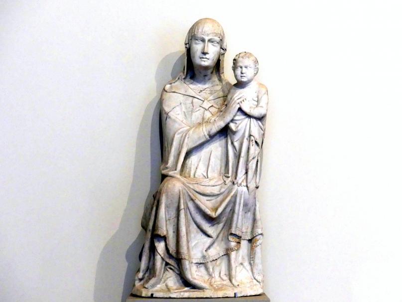 Domenico di Agostino: Thronende Madonna, um 1340
