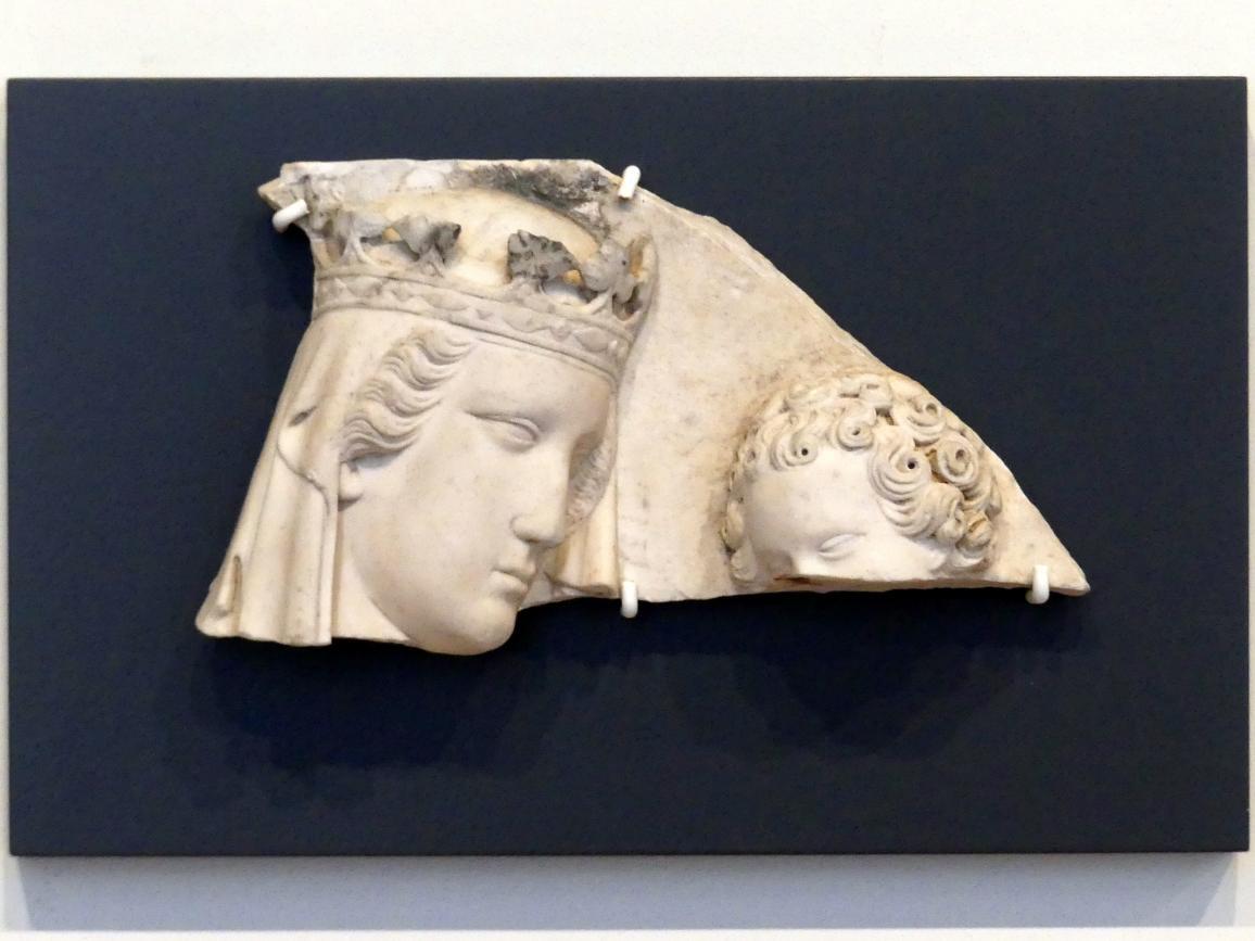 Tino di Camaino: Madonna (Fragment), um 1335
