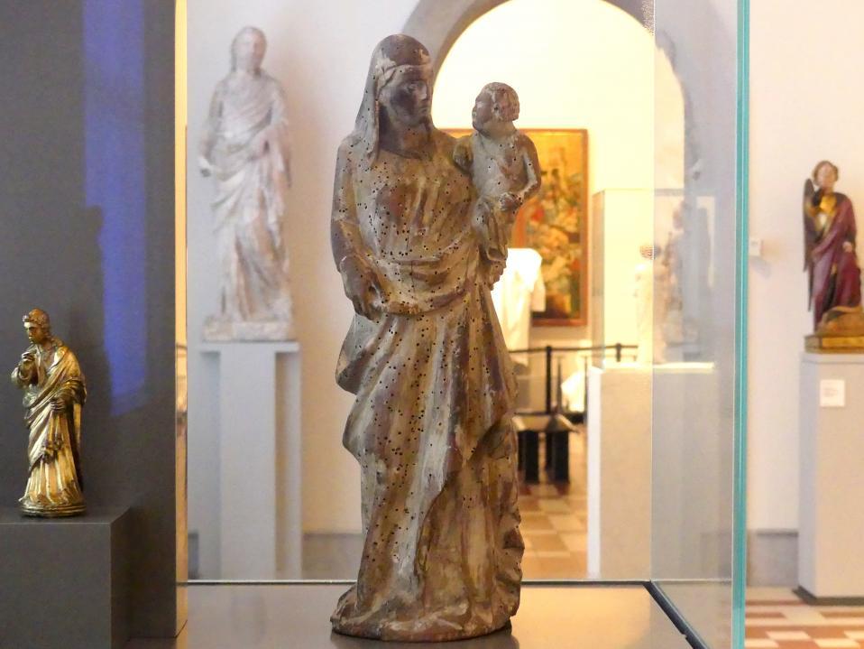 Giovanni Pisano (Nachfolger): Madonna mit Kind, 1. Viertel 14. Jhd.