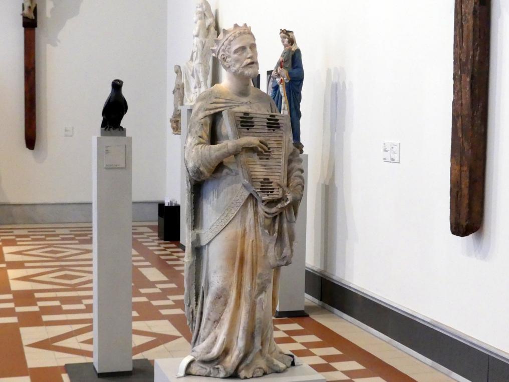Jacopo di Piero Guidi: Engel mit Psalter, 1382 - 1383