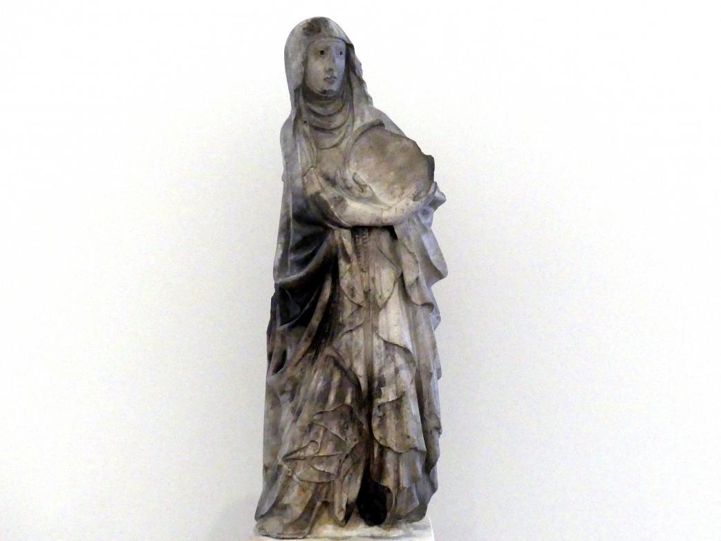 Giovanni di Balduccio (Umkreis): Humilitas (Personifikation der Demut), 2. Hälfte 14. Jhd.