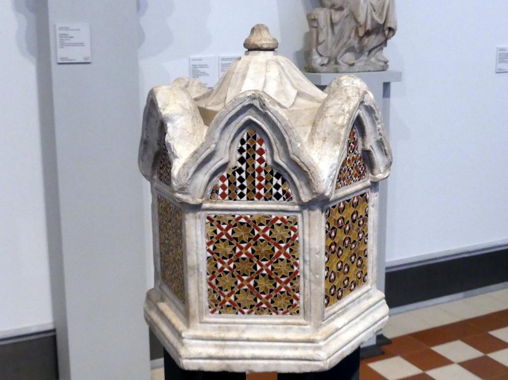 Giovanni Pisano: Behälter (Aschenurne?), 14. Jhd.