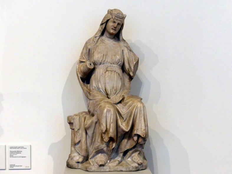 Arnolfo di Cambio: Thronende Madonna, um 1270