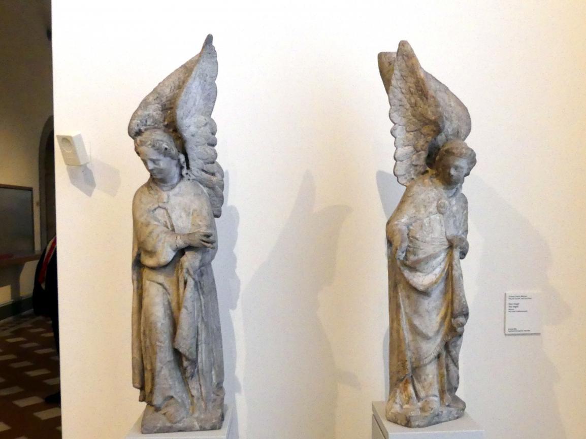 Giovanni Pisano (Werkstatt): Zwei Engel, Undatiert