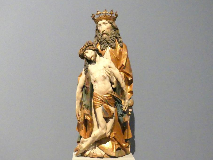 Tilman Riemenschneider (Werkstatt): Gottvater mit dem leidenden Christus (Gnadenstuhl), um 1510