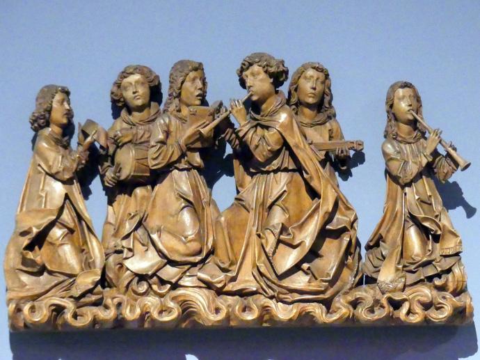 Tilman Riemenschneider (Werkstatt): Singende und musizierende Engel, um 1505