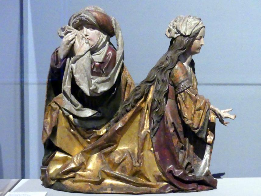 Tilman Riemenschneider: Trauernde Frauen aus einer Beweinung Christi, um 1485 - 1490