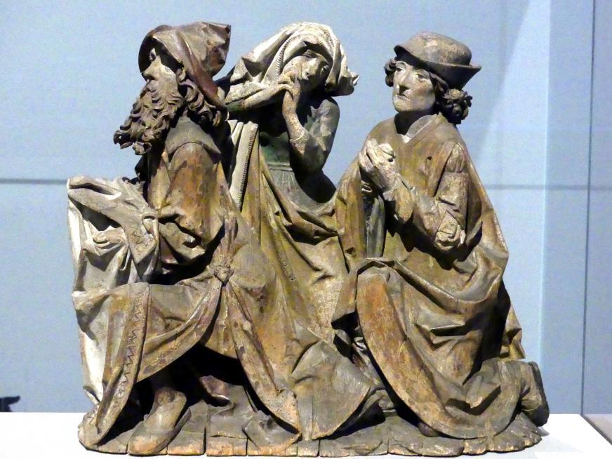 Tilman Riemenschneider: Trauernde aus einer Beweinung Christi, um 1485 - 1490