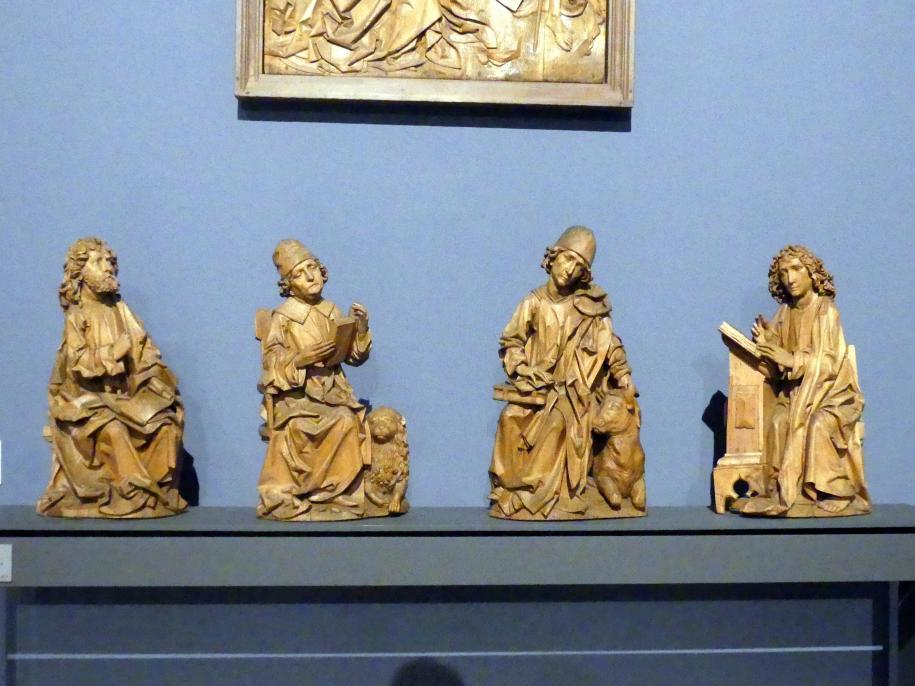 Tilman Riemenschneider: Die vier Evangelisten: Matthäus, Markus, Lukas und Johannes, 1490 - 1492