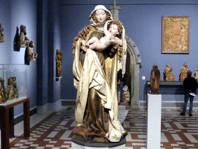 Nicolaus Gerhaert van Leyden: Die Dangolsheimer Muttergottes, um 1460 - 1465