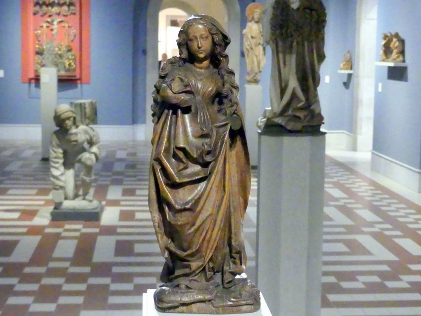 Nicolaus Gerhaert van Leyden: Muttergottes, um 1465