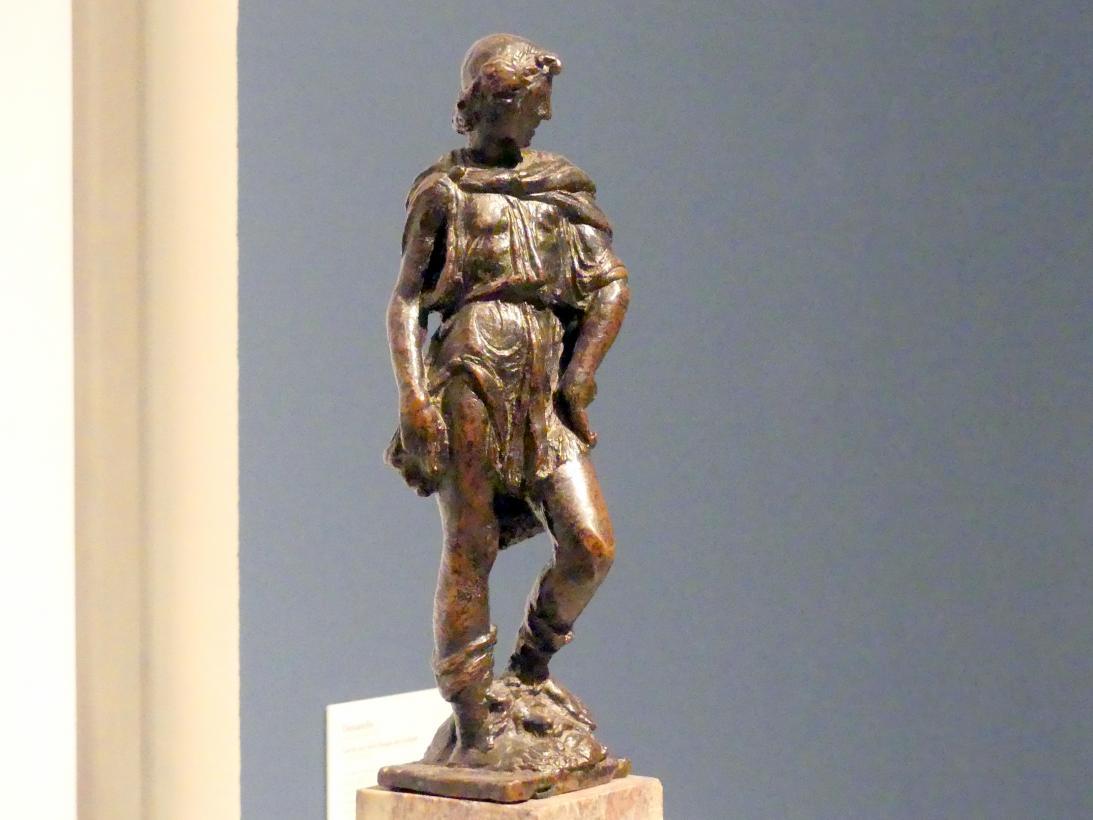 Donatello: David mit dem Haupt des Goliath, um 1455 - 1470