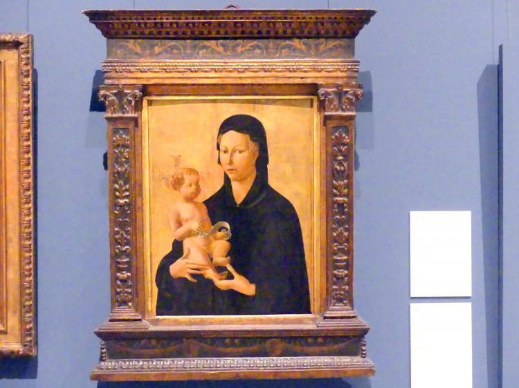 Paolo Uccello (Paolo di Dono): Madonna mit Kind, um 1435