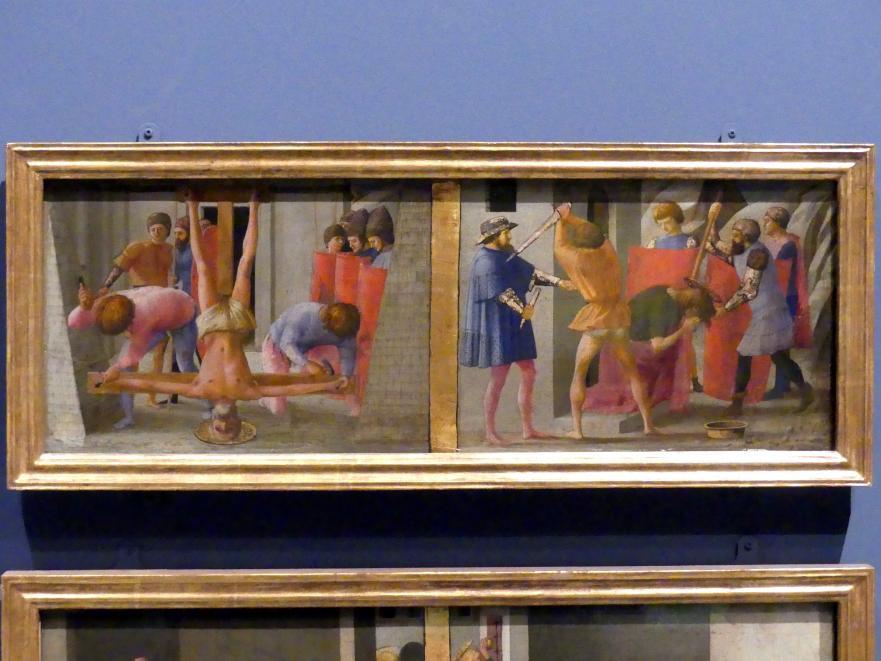 Masaccio: Die Martyrien der Heiligen Petrus und Paulus, 1426
