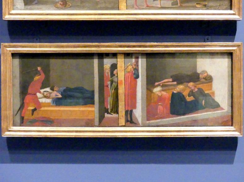 Masaccio: Szenen aus dem Leben des heiligen Julian und des heiligen Nikolaus von Bari, 1426