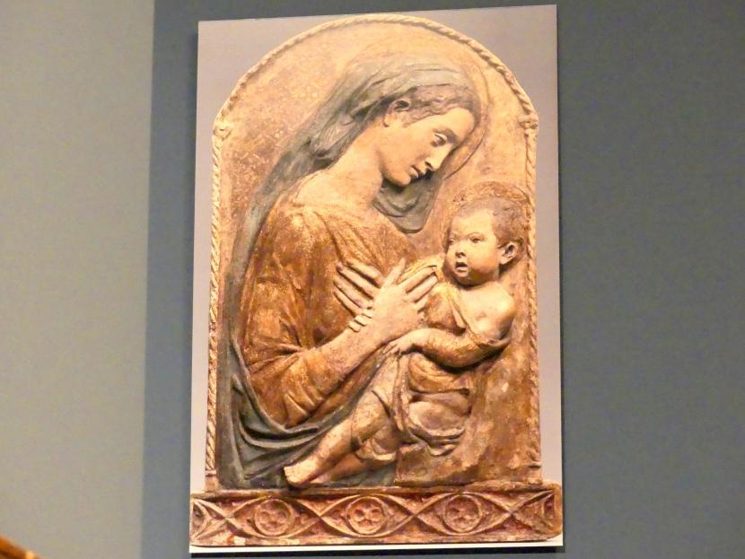 Donatello (Nachahmer): Madonna mit Kind, um 1450