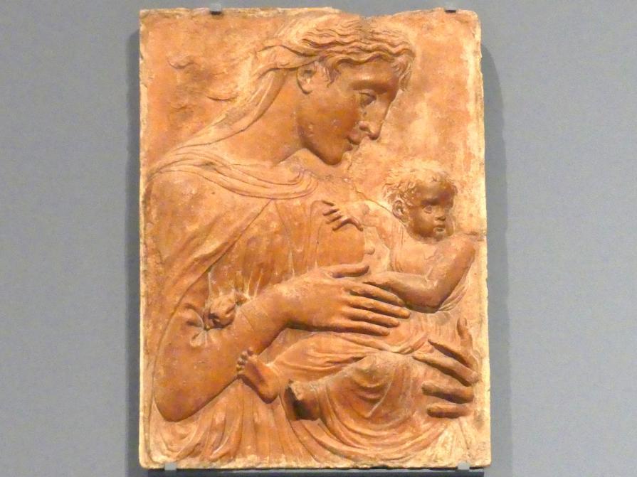 Donatello (Nachahmer): Madonna mit Kind, um 1430 - 1450