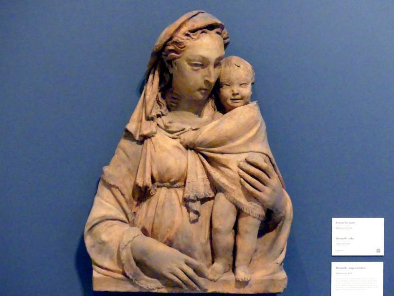 Donatello: Madonna mit Kind, um 1410 - 1415