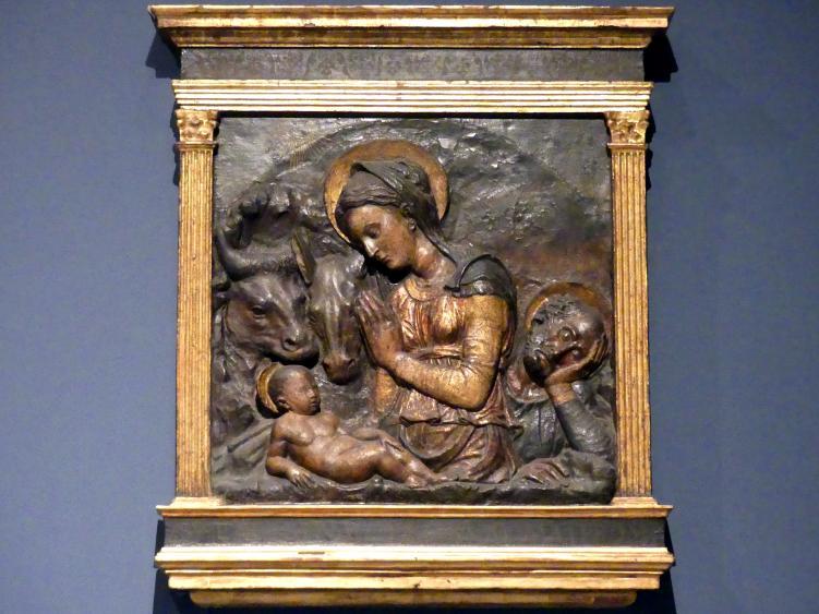Donatello (Nachahmer): Die Heilige Familie, um 1450 - 1470