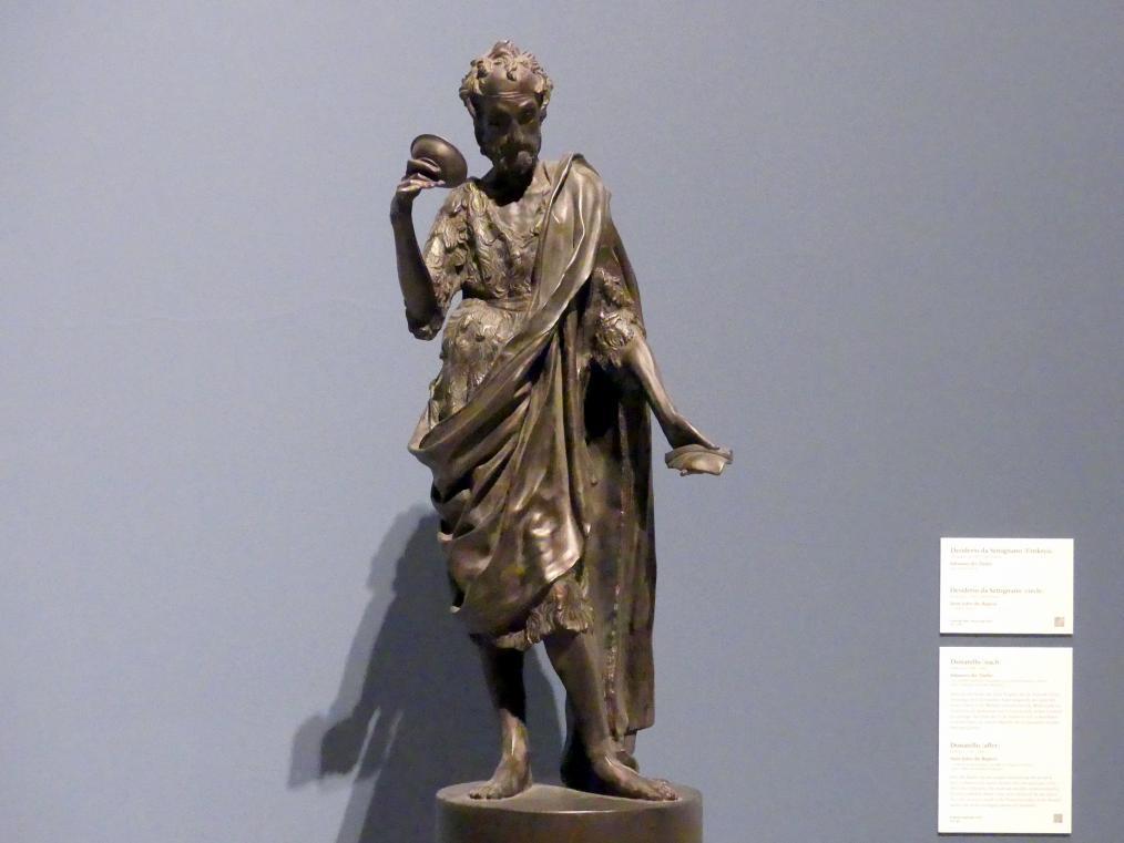 Donatello (Nachahmer): Johannes der Täufer, um 1420 - 1440