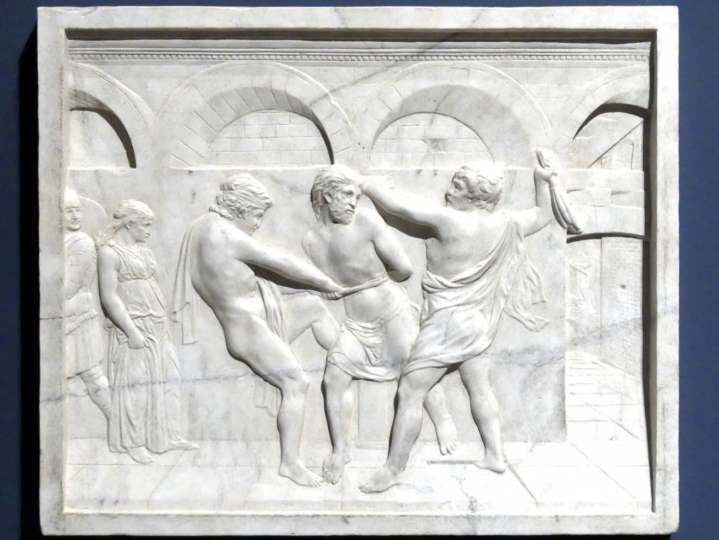 Donatello (Nachahmer): Die Geißelung Christi, um 1425 - 1430