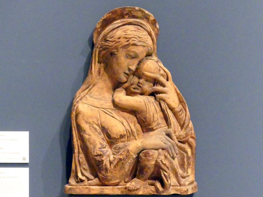 Donatello (Nachahmer): Madonna mit Kind, gen. Verona Madonna, 19. Jhd.