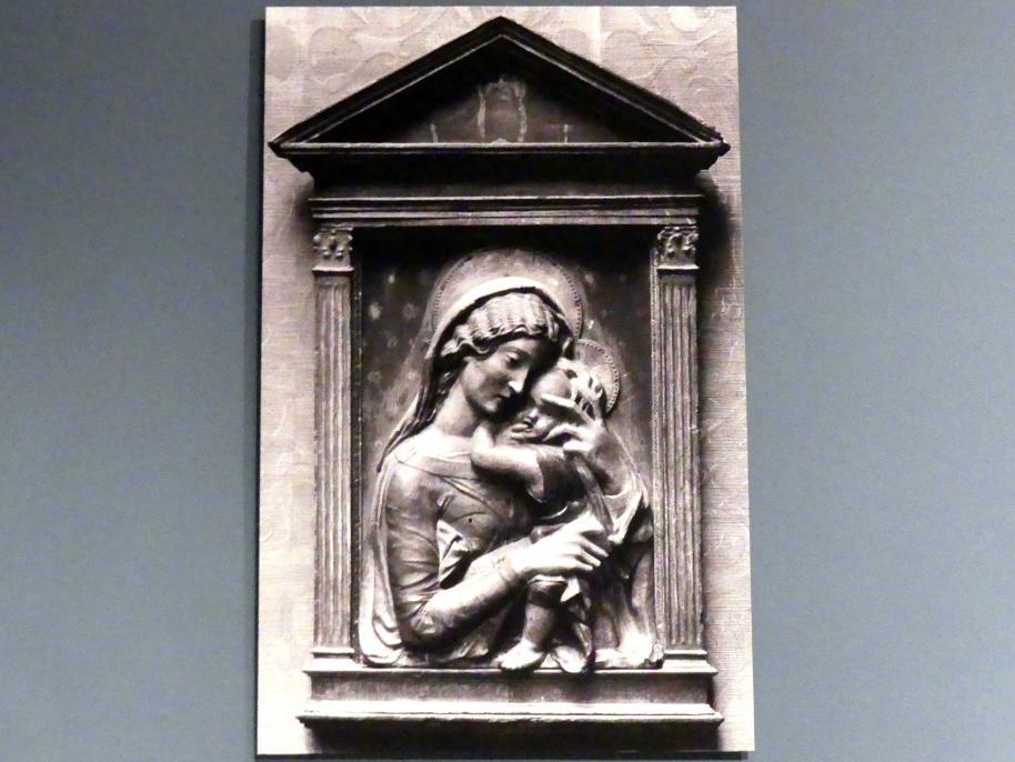 Donatello (Nachahmer): Madonna mit Kind, gen. Verona Madonna, um 1450