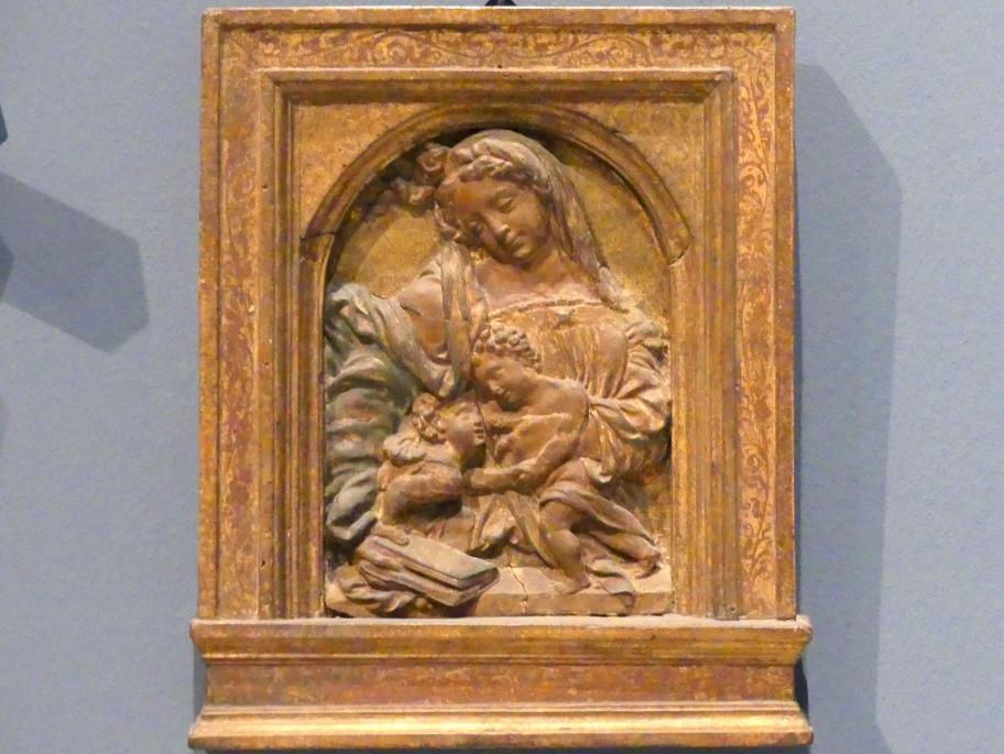Madonna mit Kind und dem Johannesknaben, um 1500
