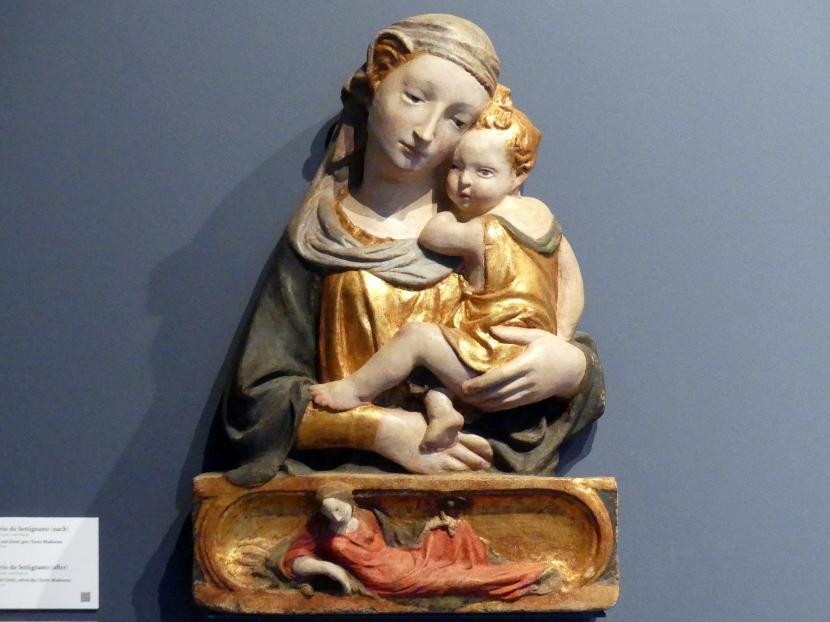 Lorenzo Ghiberti (Nachahmer): Madonna mit Kind, um 1430