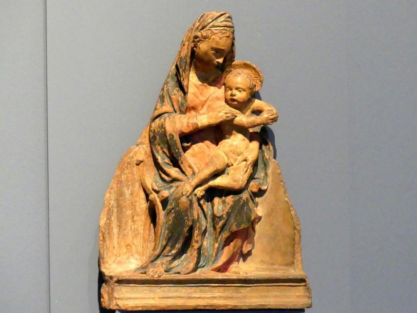 Nanni di Bartolo (Rosso): Maria mit Kind, um 1420 - 1425