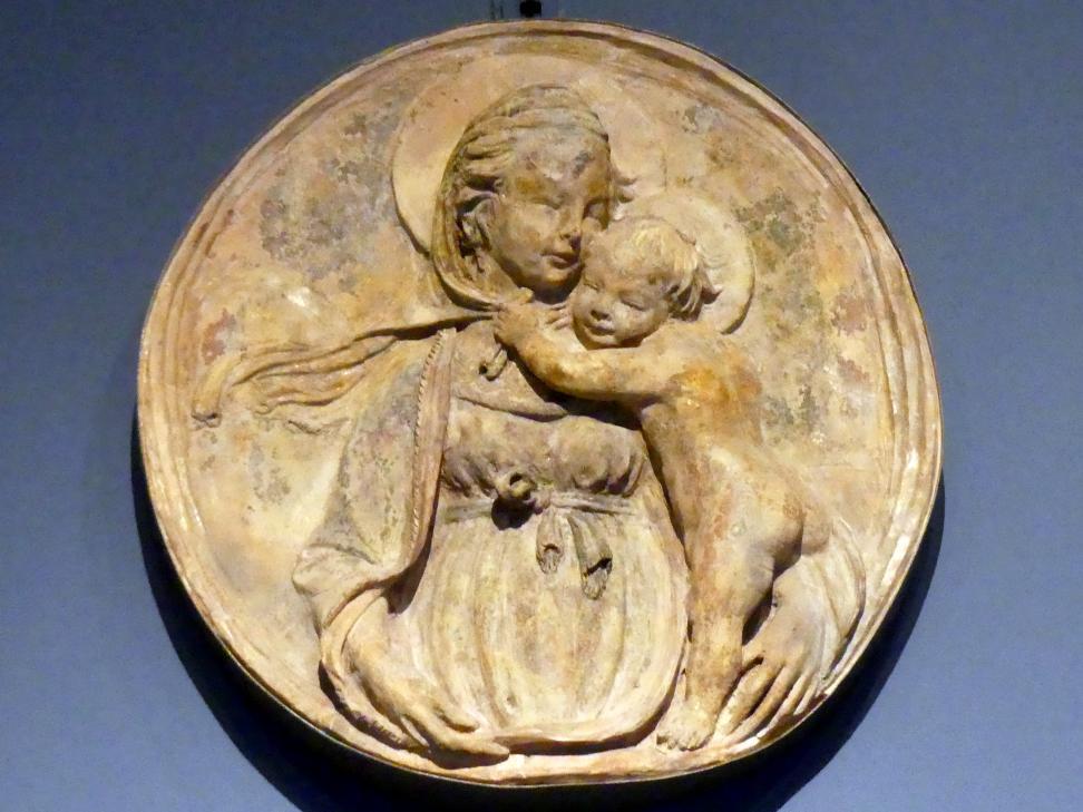 Lorenzo Ghiberti (Nachahmer): Madonna mit Kind, um 1415 - 1420
