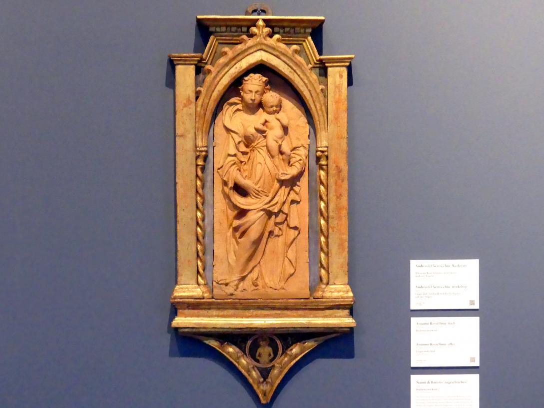 Nanni di Bartolo (Rosso): Madonna mit Kind, um 1420