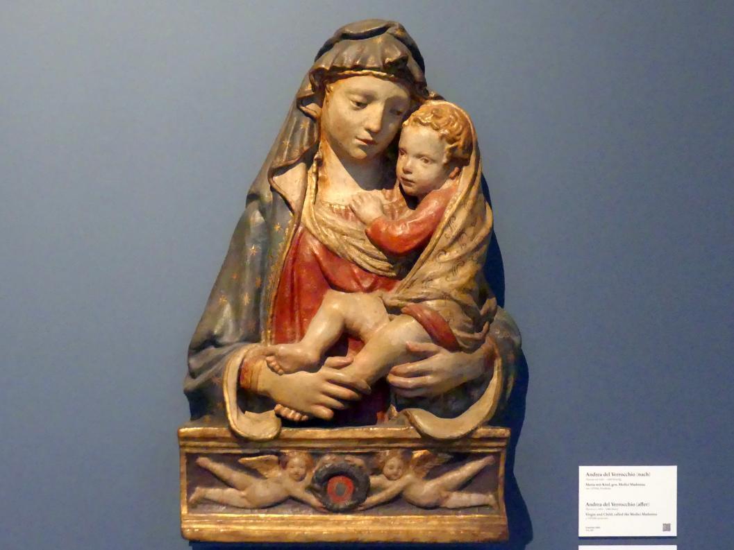 Nanni di Banco: Madonna mit Kind, um 1405 - 1410