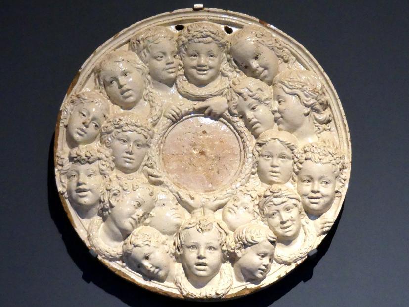 Luca della Robbia (Nachahmer): Spiegel, um 1440