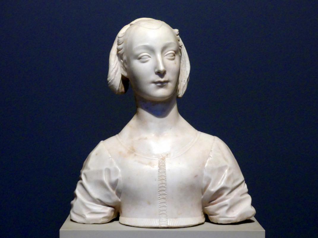 Desiderio da Settignano: Marietta Strozzi, um 1462