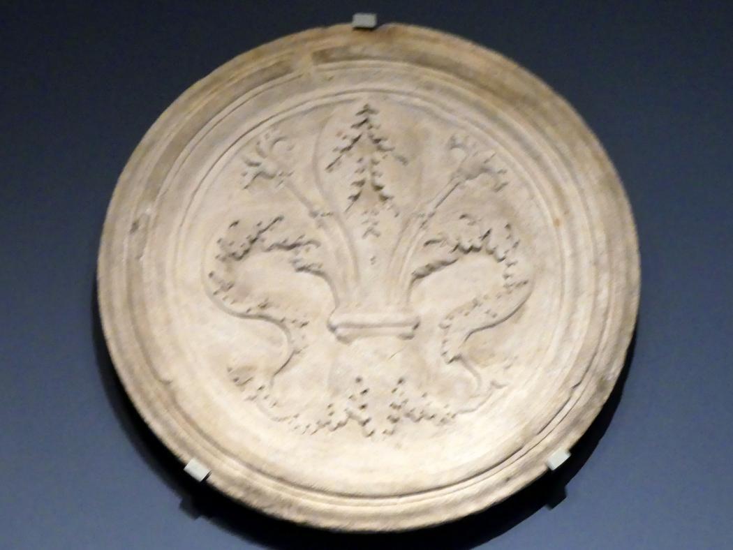 Wappen der Florentinischen Republik, Ende 15. Jhd.