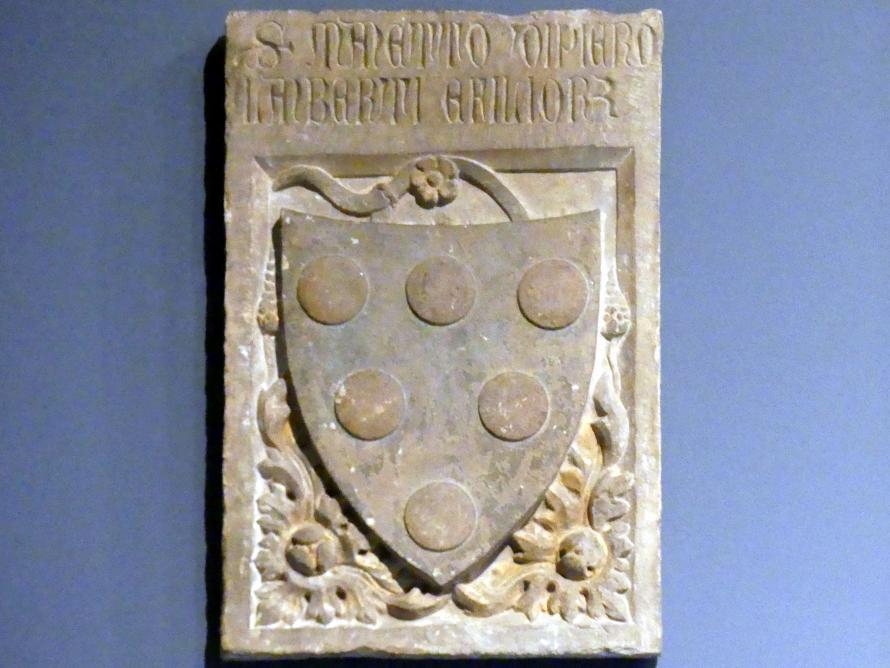 Grabplatte des Manetto di Piero Lamberti, um 1401 - 1450